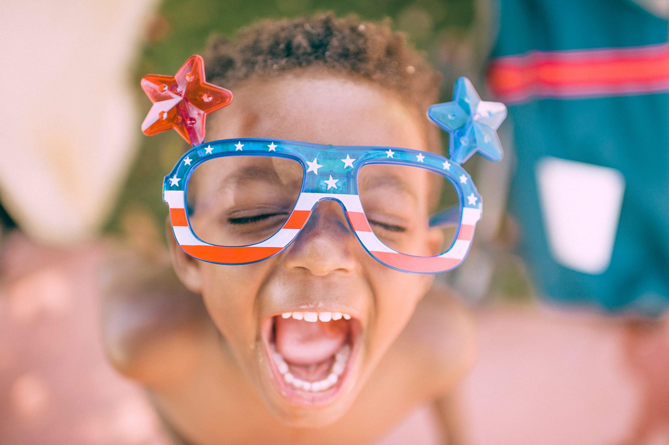 Boy.Flag.Glasses.Minority