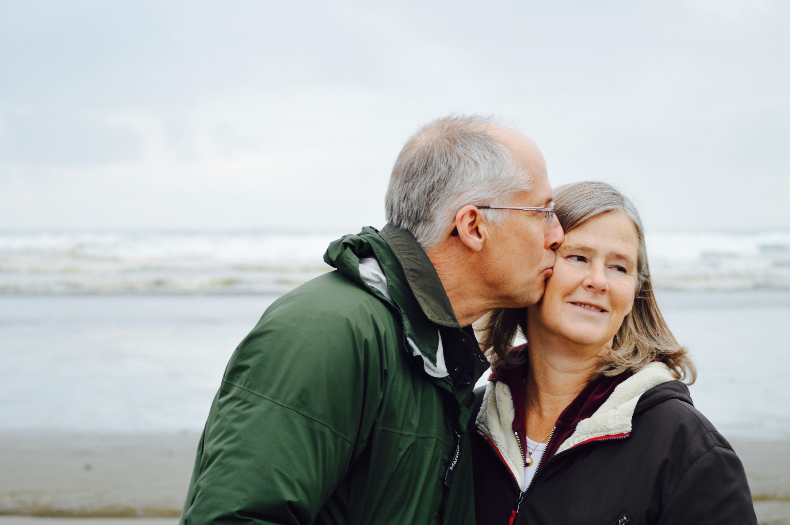 Older.Couple.Kiss.Beach.Cold